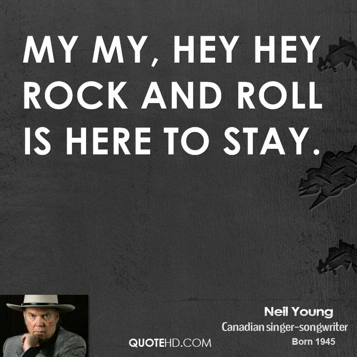 quotes about rock and roll quotes
