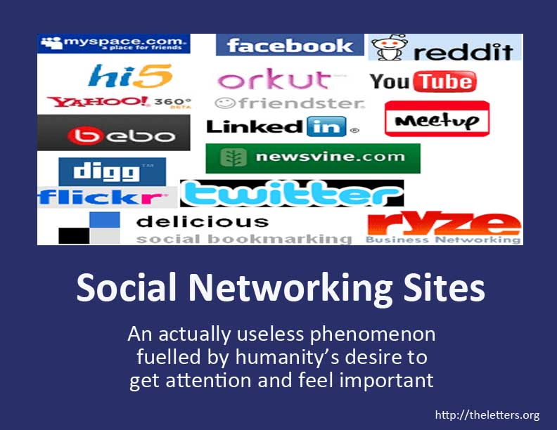 social networking sites a friend or With social networking sites like facebook or myspace, sharing your private thoughts or daily happenings with friends became commonplace these sites cater particularly to the college-age crowd.