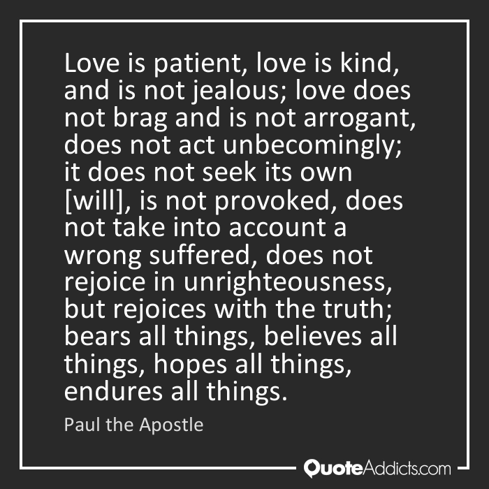 Quotes About Love Is Patient