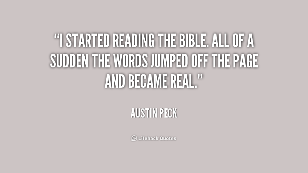 Quotes about Bible reading 112 quotes