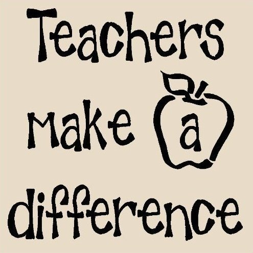 Quotes about Difference teachers make (32 quotes) (495 x 496 Pixel)