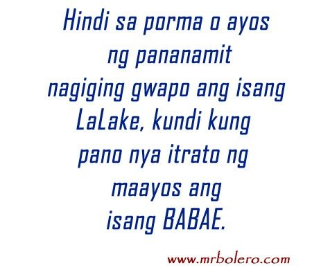 Quotes about sexuality tagalog