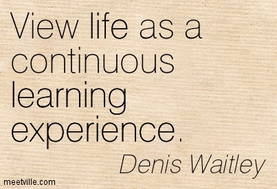 quotes about learning through experience quotes