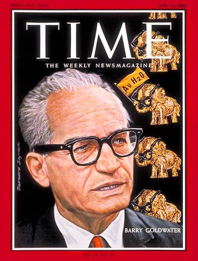 the life and times of barry goldwater Barry goldwater facts: barry goldwater (born 1909) was elected as a republican to the us senate five times between 1952 and 1980, leaving temporarily to run unsuccessfully for president in 1964.