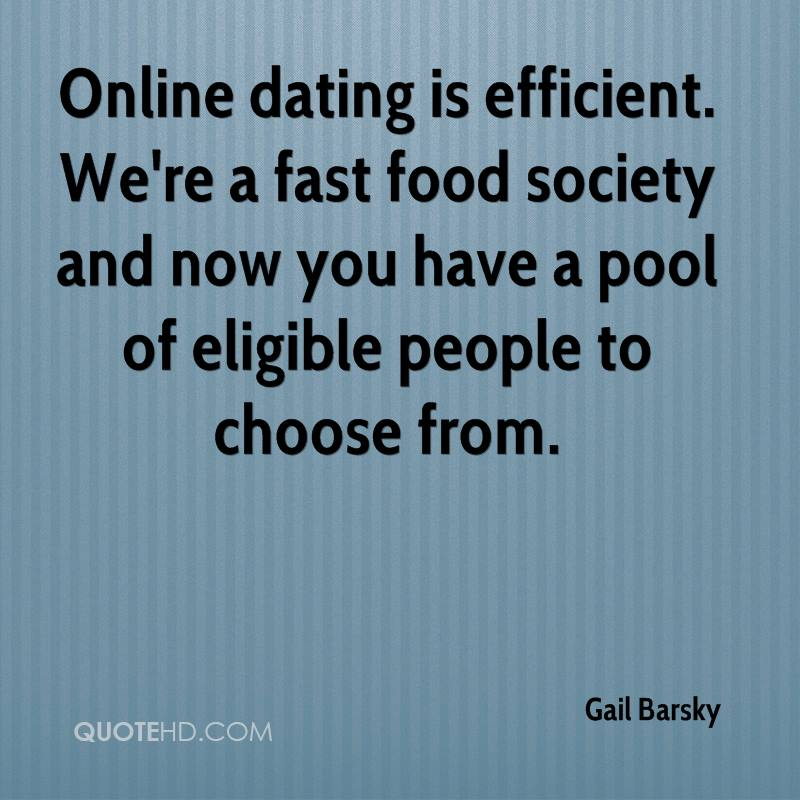 Smart online dating citat