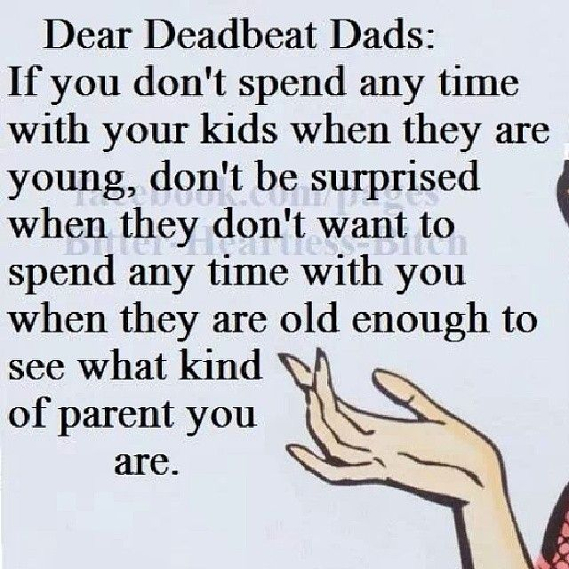 Quotes about Deadbeat dad (29 quotes)