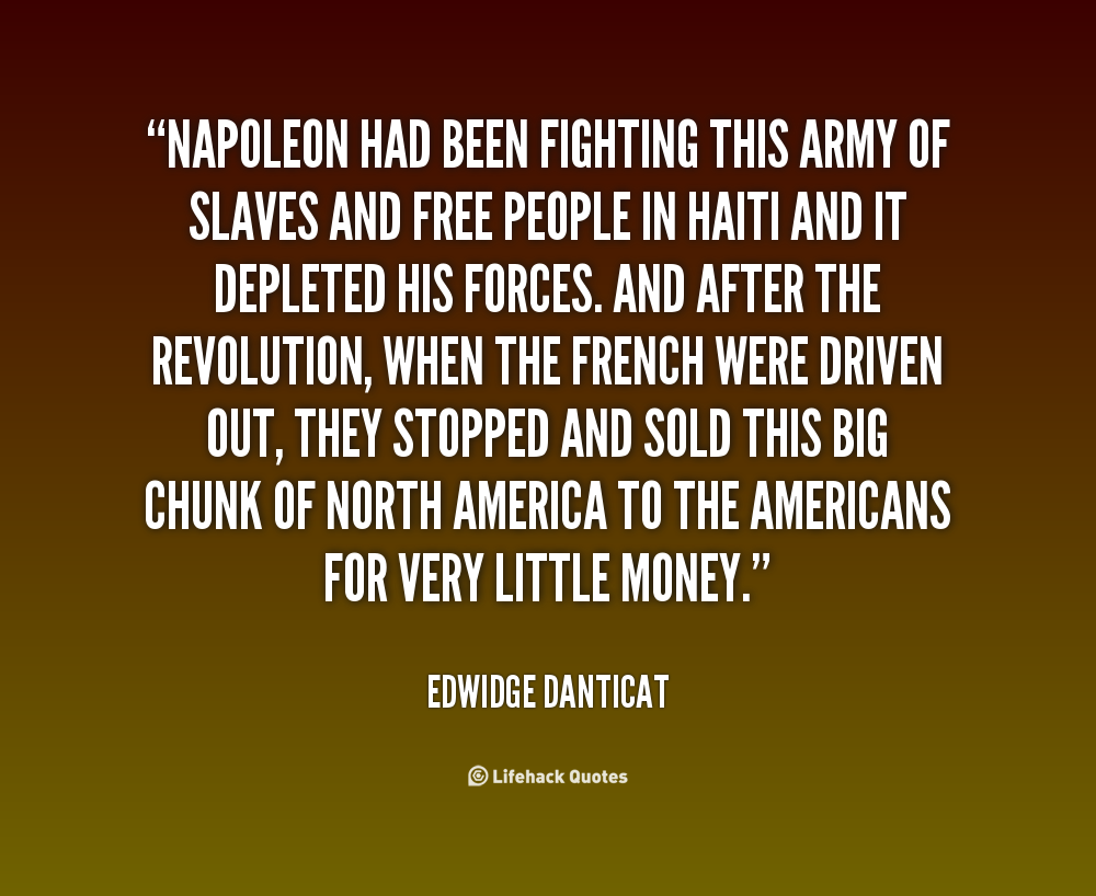 Quotes about Haitian revolution (33 quotes)