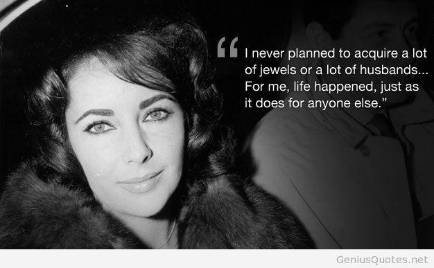 Quotes about Elizabeth Taylor (85 quotes)