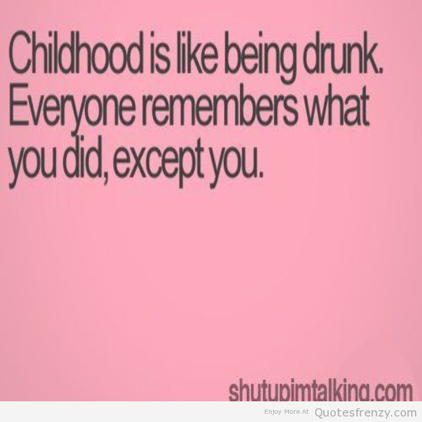 quotes about childhood memory quotes