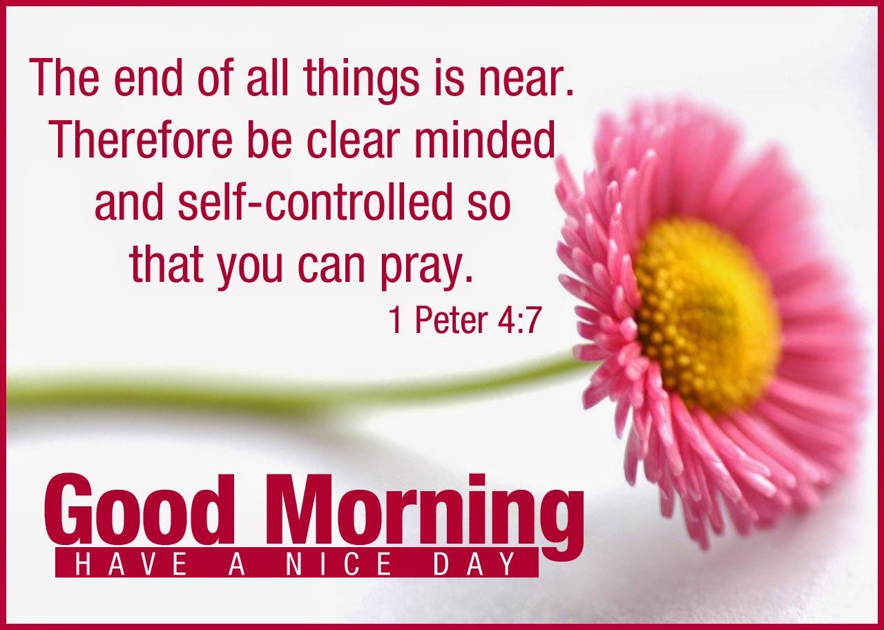 Quotes About Morning From The Bible 16 Quotes