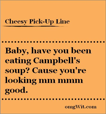 Quotes about Bad pick up lines (16 quotes)