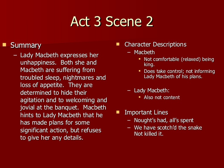 macbeth coursework act 3 scene 4 essay Macbeth act 3 scene 4 william shakespeare, baptised on 26th april 1954, is widely regarded as the greatest writer in the english language and the 1,502 words | 7 pages macbeth act 3 scene 4.