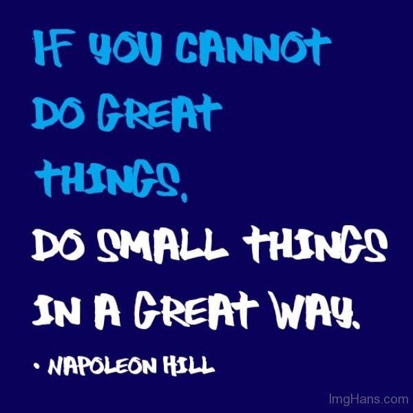 Quotes About Great And Small 60 Quotes Beauteous Great Small Quotes