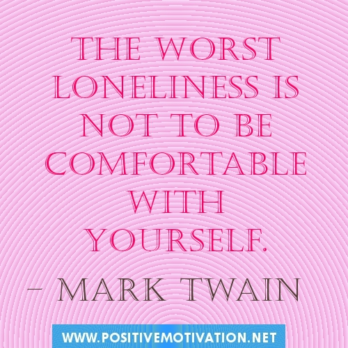Quotes about Accepting loneliness (24 quotes)