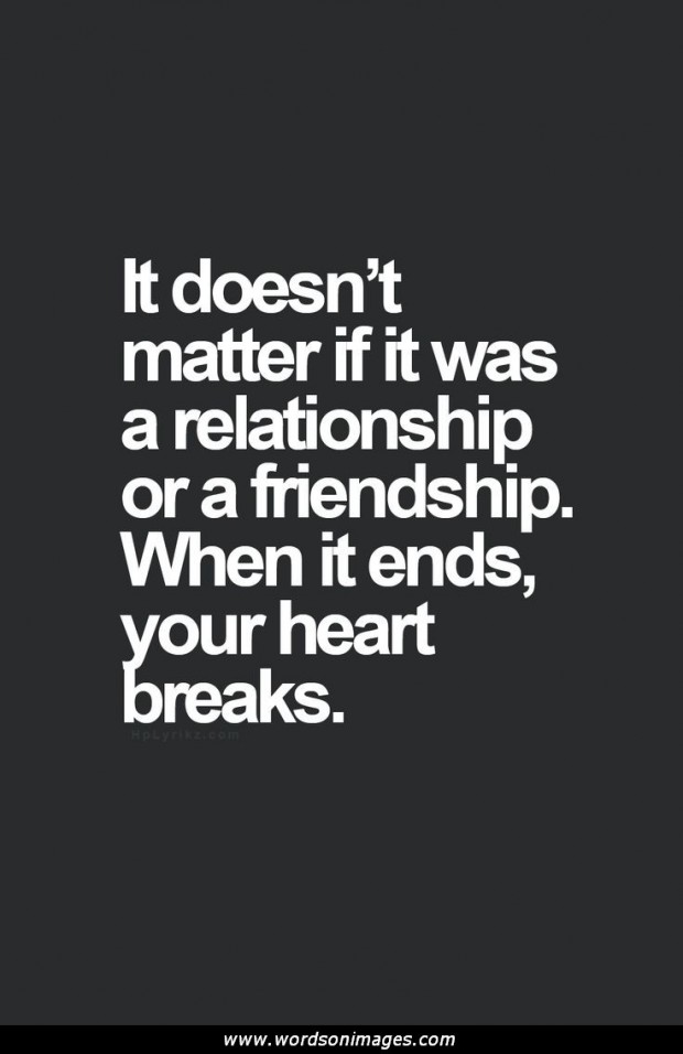 quotes about friendship ending quotes