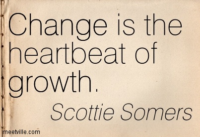Quotes about Change And Growth (108 quotes)