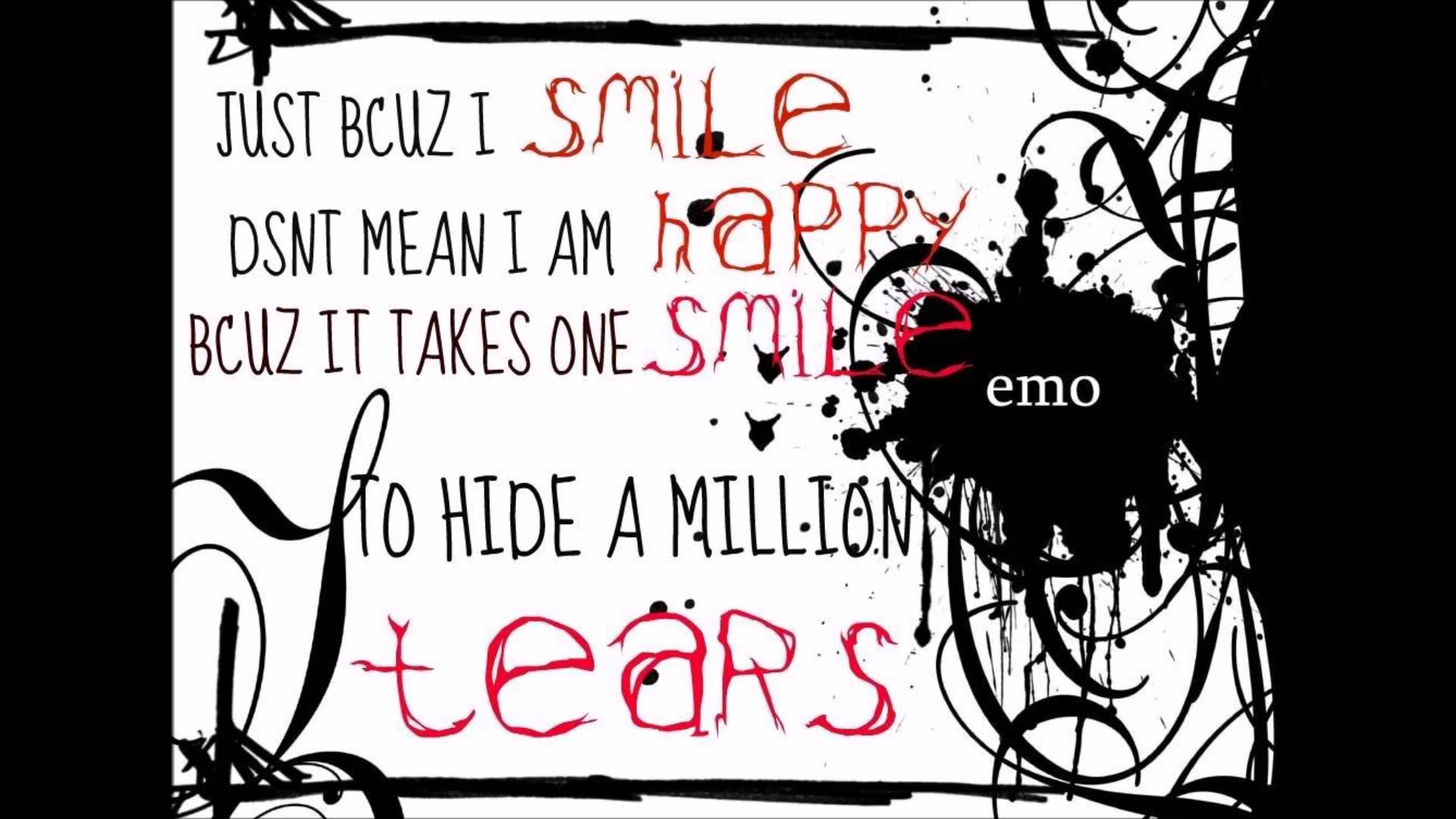 Quotes about Smile and sadness (65 quotes)