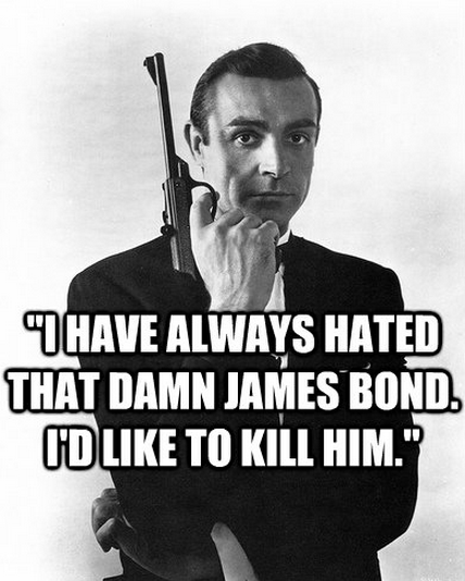 Quotes About James Bond Movie 40 Quotes Extraordinary James Bond Quotes