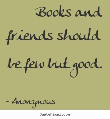 books are good friends essay