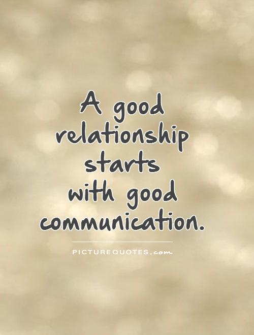 A In A Relationship How Good Communicator Be To