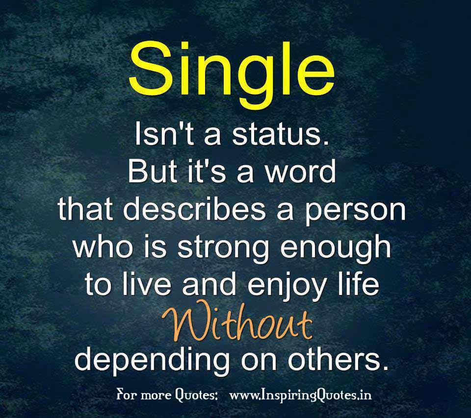 Happy quotes life single logo