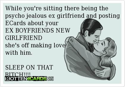 Quotes about Ex girlfriends (49 quotes)
