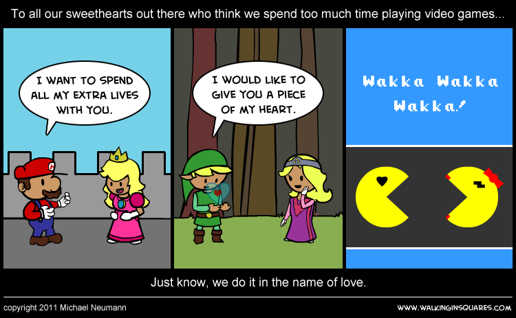 Quotes about Video games and love (59 quotes)