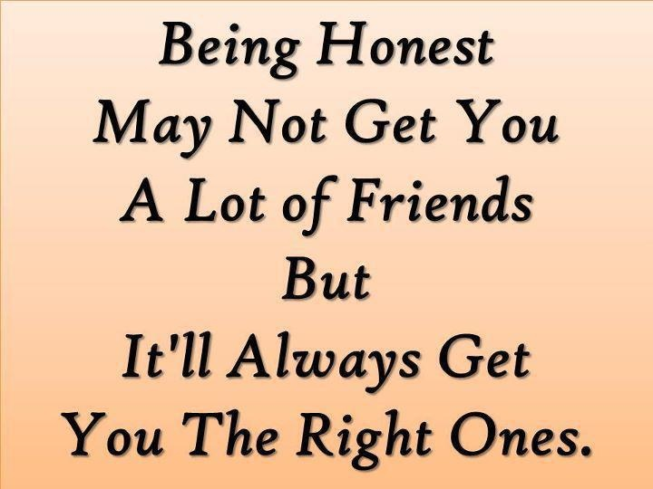 quotes about honesty and friendship quotes