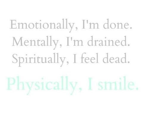 Quotes about Feeling emotionally drained (19 quotes)