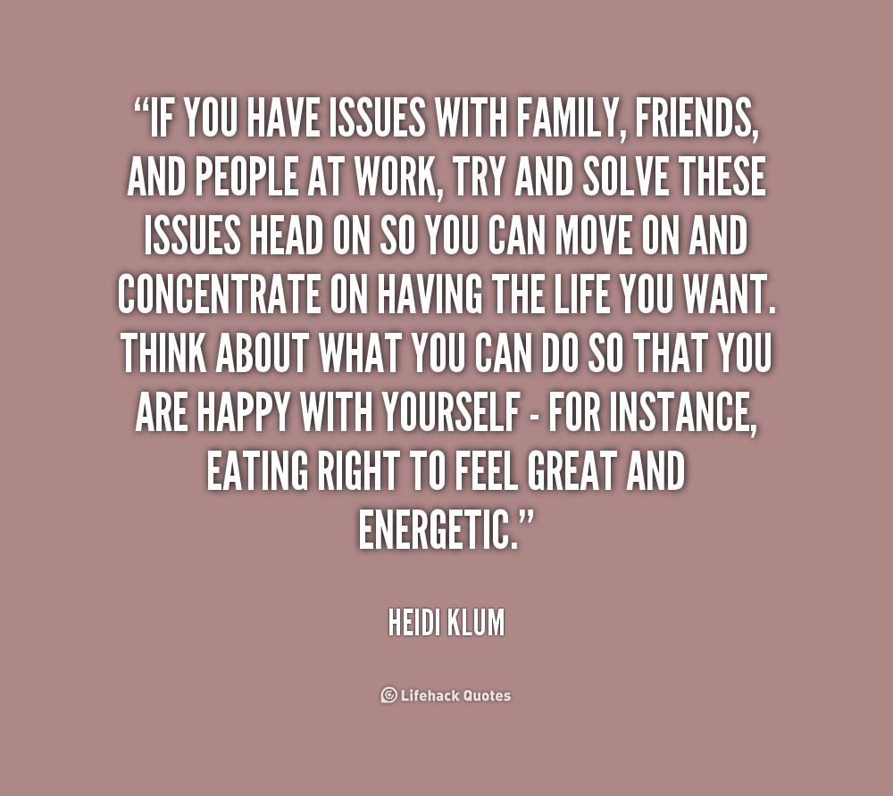 Quotes About Family Problems Sayings 18 Quotes