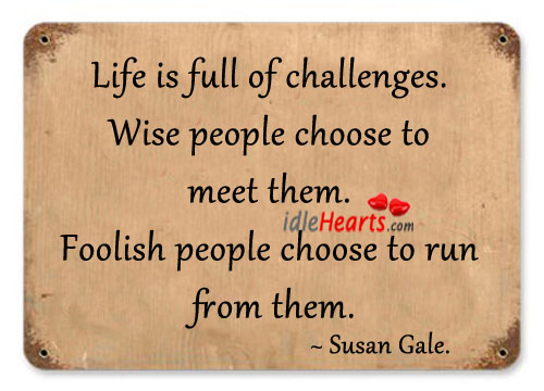 your life is full of challenges The challenge of life, i have found, is to build a resume that doesn't simply tell a story about what you want to be, but it's a story about who you want to be oprah winfrey life , story , you , resume , build , want.