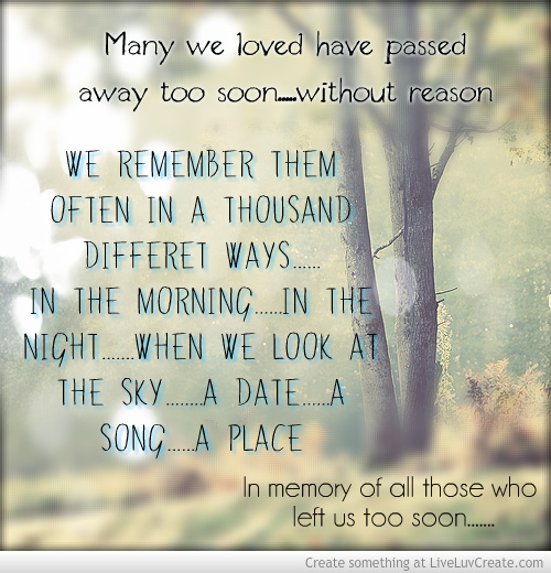 Passed Away Quotes: Quotes About Love Who Passed Away (43 Quotes
