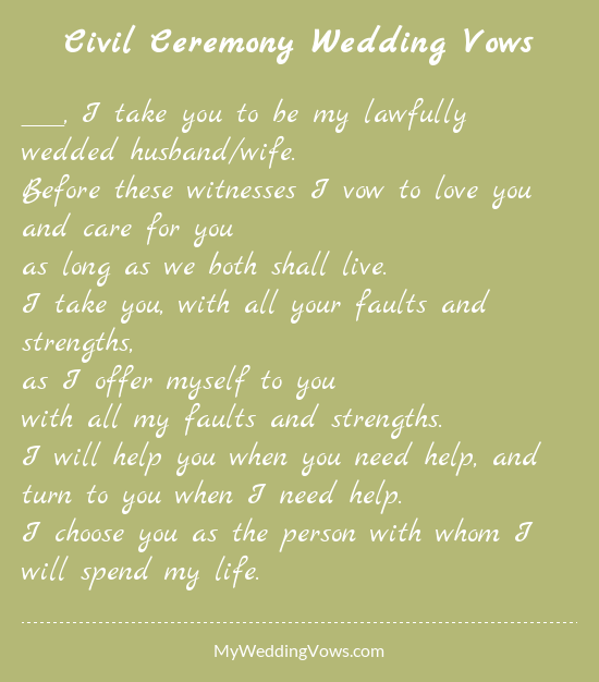 Quotes About Civil Ceremony (26 Quotes