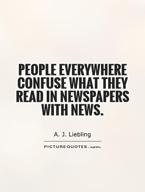 quotes about news paper 49 quotes