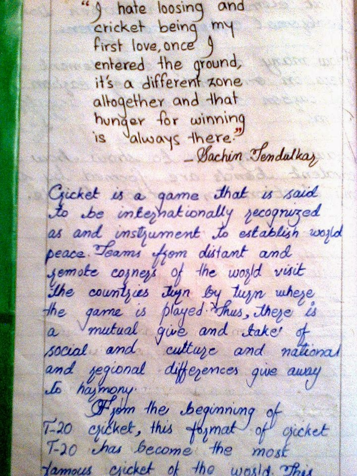 essay an interesting cricket match Essay on furious version of t20 cricket match in india article shared by cricket is game internationally recognized as an instrument for the establishment of world peace.