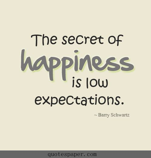 Quotes About Not Having High Expectations 60 Quotes New Quotes About Expectations