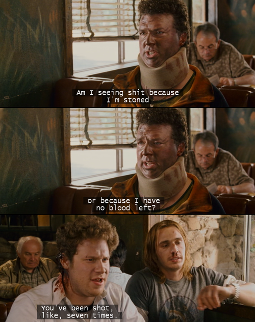 Quotes about Pineapple express (29 quotes)
