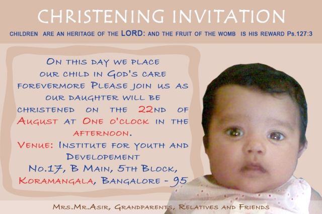 Quotes About Christening 30 Quotes