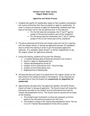 national honor society essay conclusion national junior ...