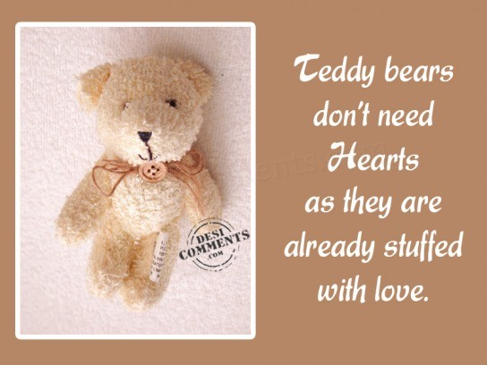 Quotes about Teddy bear (69 quotes)