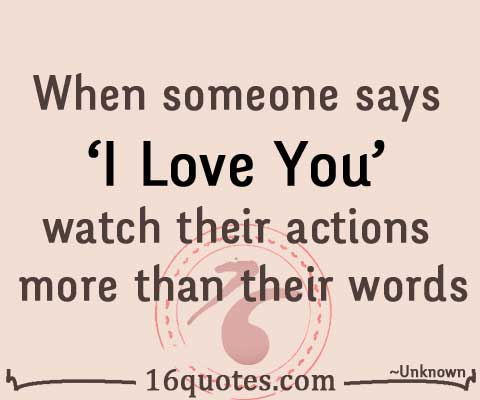 Nice Words To Say To Someone You Love