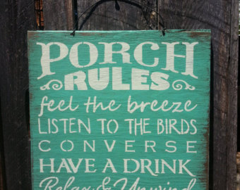 Quotes About Back Porches 47 Quotes