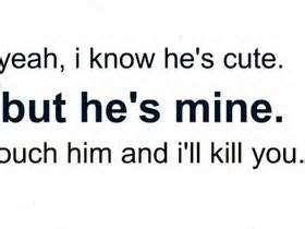 Quotes about Mean boyfriend (28 quotes)