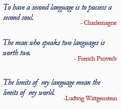 Quotes About French Language 68 Quotes