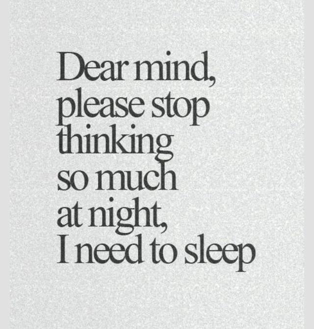 I am sleepy quotes