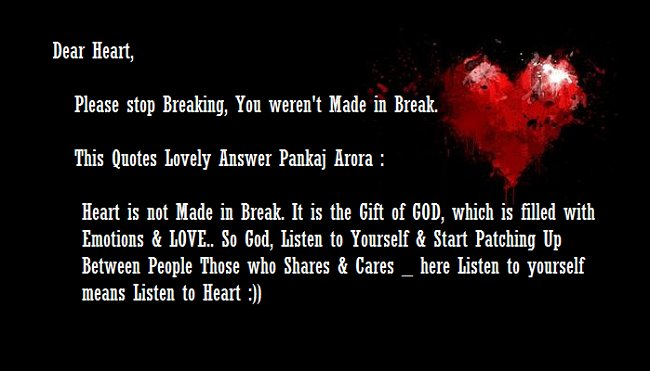 Quotes about Breaking My Heart (64 quotes)