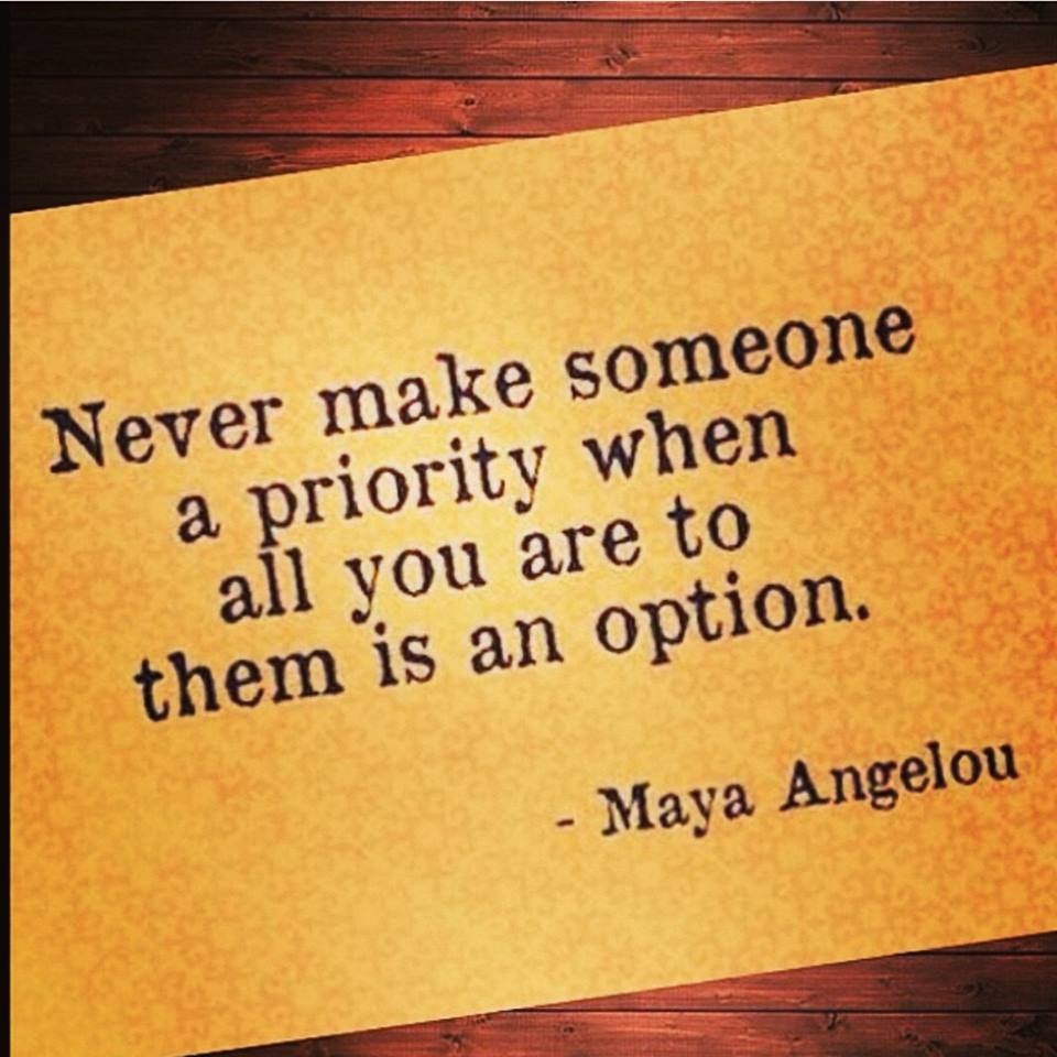 Quotes about Being the priority (59 quotes)