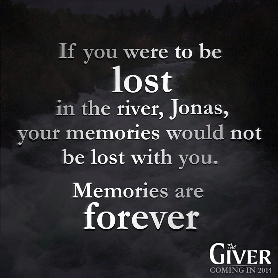 quotes about memory from the giver quotes