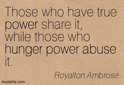 Quotes On Power Quotes About Power Sharing 52 Quotes