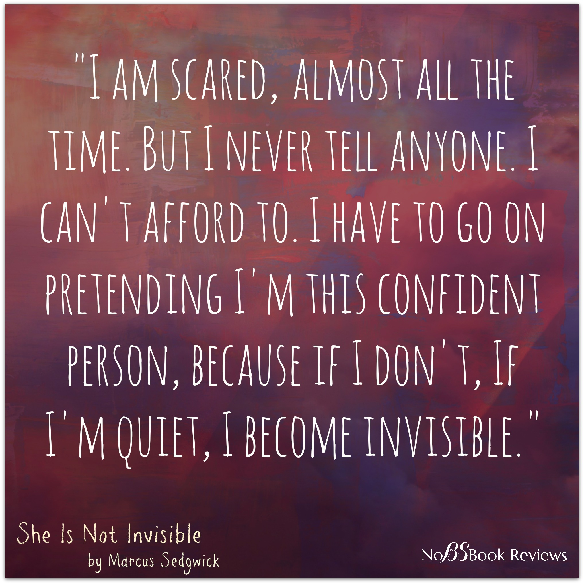 Quotes about Being invisible (64 quotes)